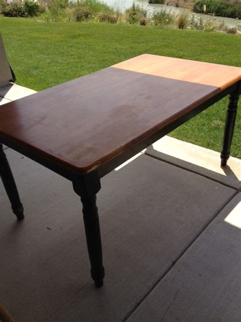 How To Paint A Dining Room Table by Painting The Dining Room Table A Survivor S Story