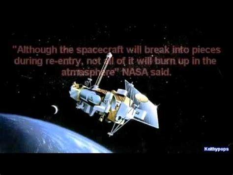 Ton Nasa 7 ton nasa satellite set to crash to earth in september