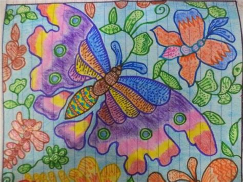 desain batik flora dan fauna 25 contoh gambar ragam hias flora dan fauna yang mudah