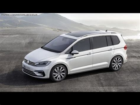volkswagen minivan 2016 all new 2016 volkswagen touran compact minivan official