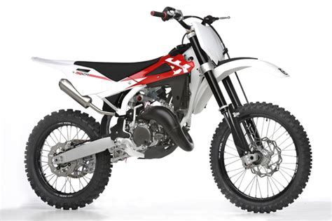 husqvarna releases 150cc two stroke motocross bike