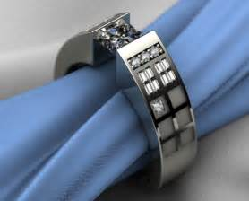 dr who wedding ring dr who tardis themed engagement ring geekologie