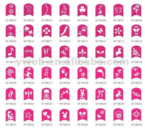 nail design template nail design stencil finger nail stencils buy nail