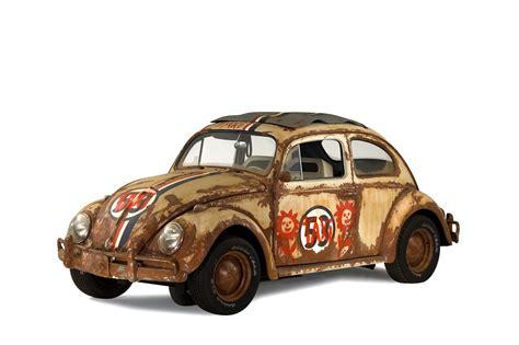 car with original herbie stunt car
