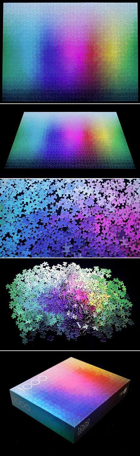 puzzle with every color 1 000 colors puzzle awesome dr who and is beautiful