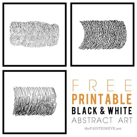 free printable wall art black and white 17 抽象画 アート 無料素材 プリント飾るだけでお洒落 モノトーンblack white男前ウォールポスター