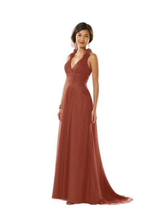 rust colored dress alfred angelo 8604