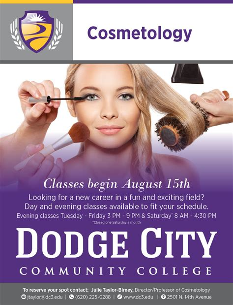 dccc cosmetology classes dodge city  jobs