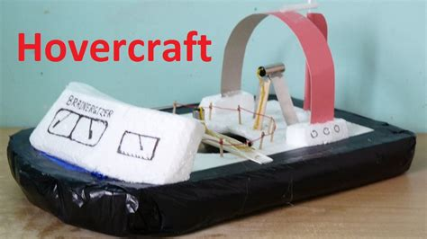 diy hovercraft science fair project how to make a mini hovercraft at home funnycat tv