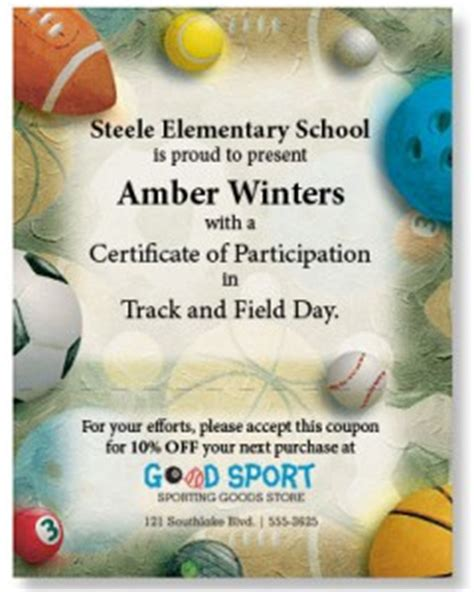 field day sports certificates paperdirect blog
