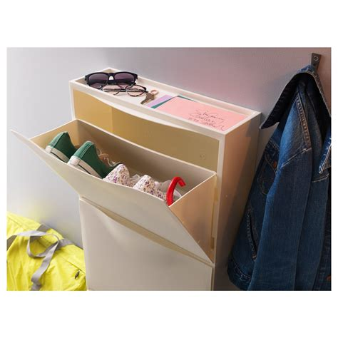 storage boxes for shoes ikea trones shoe cabinet storage white 51x39 cm ikea