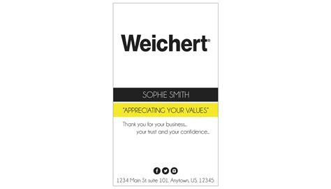 Weichert Business Card Template by Weichert Realtors Business Cards 30 Weichert Business
