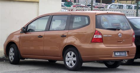Spion Grand Livina 2008 file nissan grand livina generation rear serdang jpg wikimedia commons