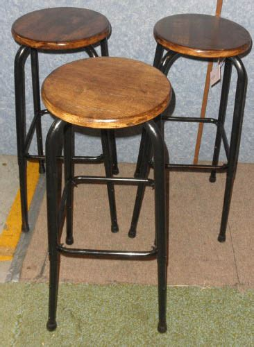 3 vintage bar stools b5284 for sale antiques com