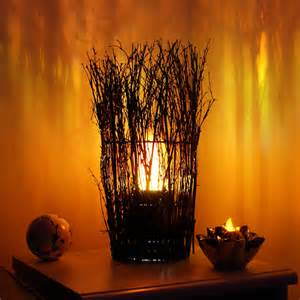post lights: home products silk flame lamp twiggy design
