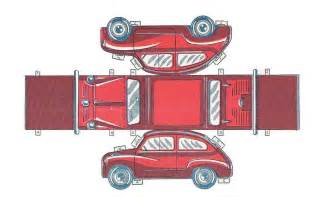 How To Make A Paper Model Car - papercraft y cubeecraft para armar hazlo tu mismo