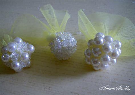 fiori con le perline anima shabby fiori di perline n 2