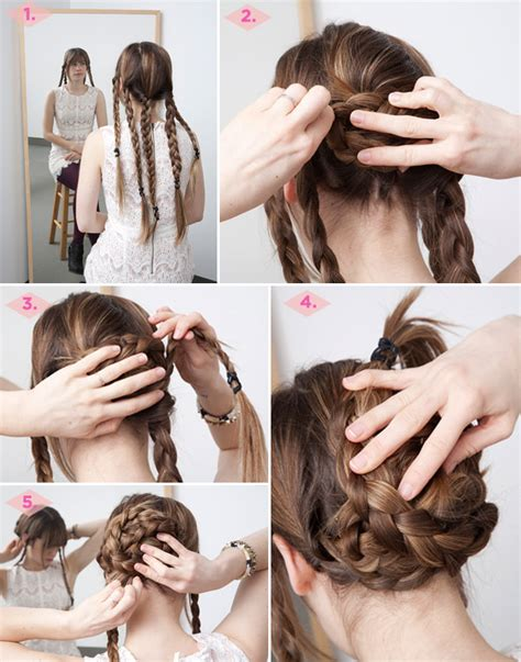 braid lol it s a simple way to do 2 french braids on thick medium in the thick of it 3 fancy hairstyles for thick hair
