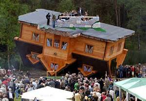 Upside Down House Poland | the upside down house poland green vision