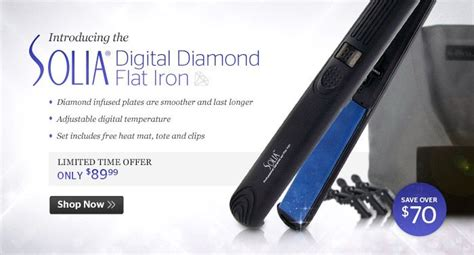 Solia Flat Iron Has Become A Popular Hair Iron Among Customers by 9 Best Images About Industry Ads On Hair Tools