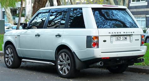 land rover vogue 2005 file 2003 land rover range rover l322 03my vogue wagon