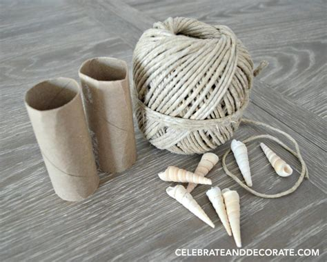 Make Paper Napkin Rings - diy coastal napkin rings celebrate decorate