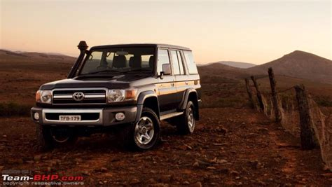 would these two find buyers in india toyota lc 70 series