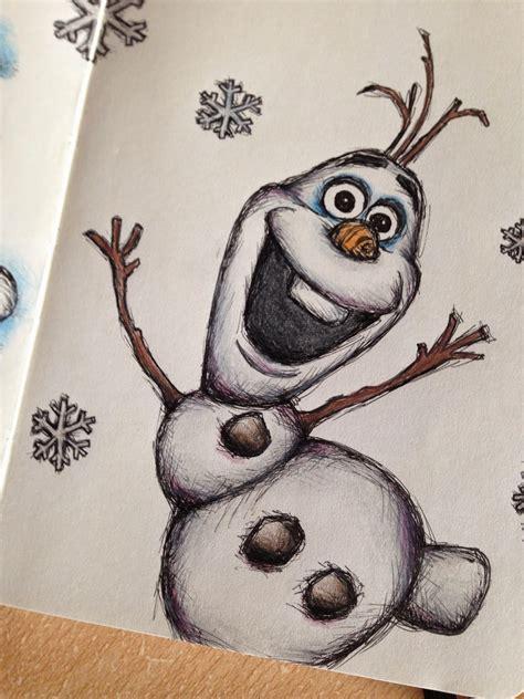 doodle draw olaf scudge moleskine work olaf zentangle
