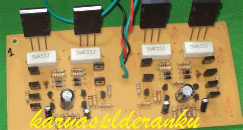 gambar transistor c5200 karya solderanku 125w pa marix 1 4 th 2011