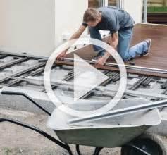 wpc terrasse bauen terrasse bauen mit hornbach