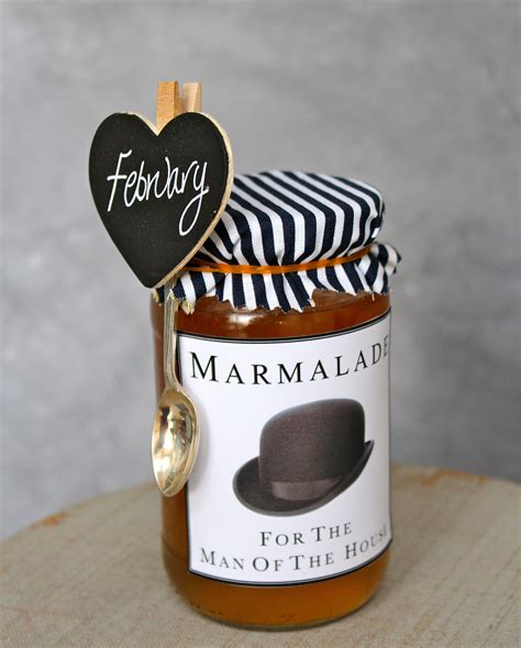Way Marmalade marmalade with personalized labels way to wrap
