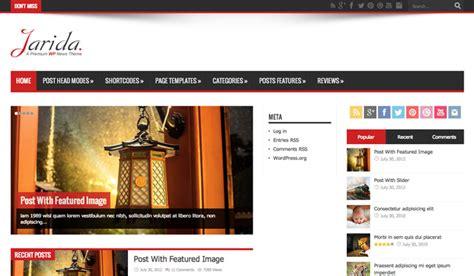 Wordpress Theme Jarida Free Download | jarida responsive wordpress news magazine blog v2 3 2