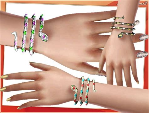 78 best the sims 3 accessories images on pinterest snake bracelet by lore at lorandia sims 3