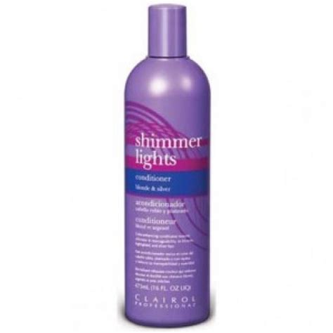 Shimmer Lights Conditioner by Clairol Shimmer Lights Conditioner For And Silver
