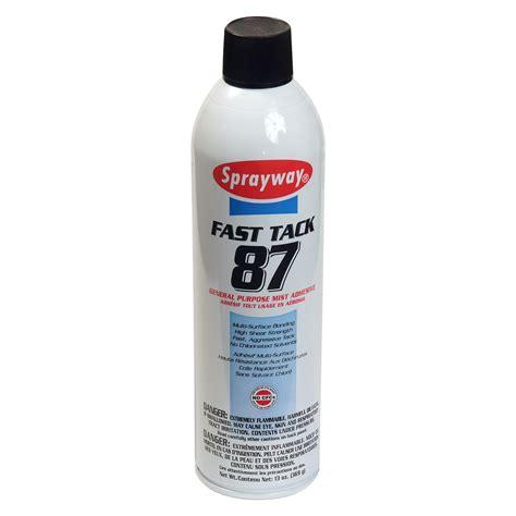 drapery supplies fast tack 87 13 oz multi surface bonding spray