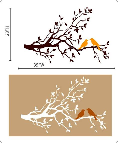 can you get a vinyl design of a shirt tree bird stencil our patterns come with vibrant colors