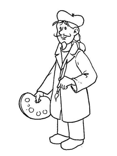 coloring pages jobs and professions professions coloring pages coloring home