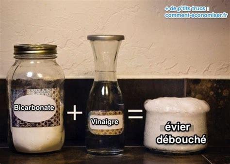 Deboucher Evier Bicarbonate Soude Vinaigre Blanc vinaigre blanc bicarbonate 10 utilisations de ce