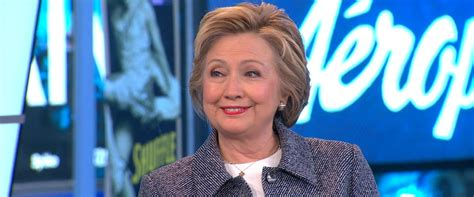 where does hillary live hillary clinton answers questions live on good morning
