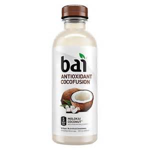 Meijers Patio Furniture Bai Antioxidant Infusions Molokai Coconut 18 Oz Target
