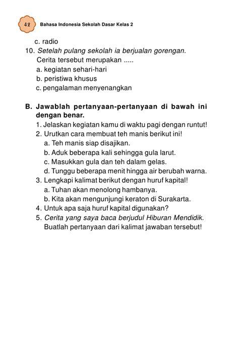 Teks Prosedur Membuat Layang Layang Bahasa Indonesia | sd mi kelas02 bahasa indonesia umri indriyani