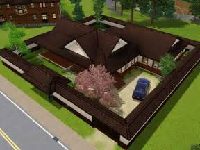 mod the sims the yomoshoto residence a traditional
