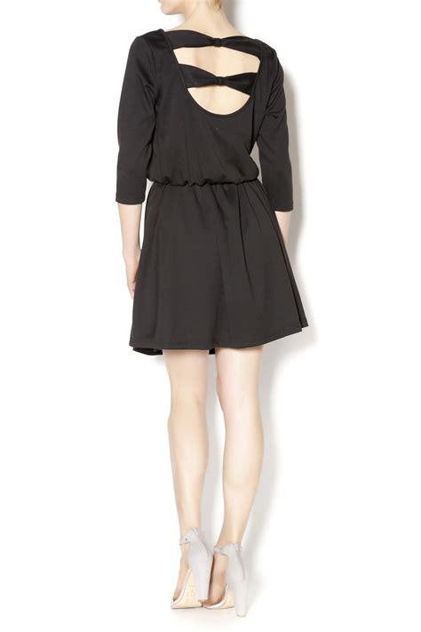 0902 Dress Ribbon Fit L Cc pepaloves black dress from utah by q clothing