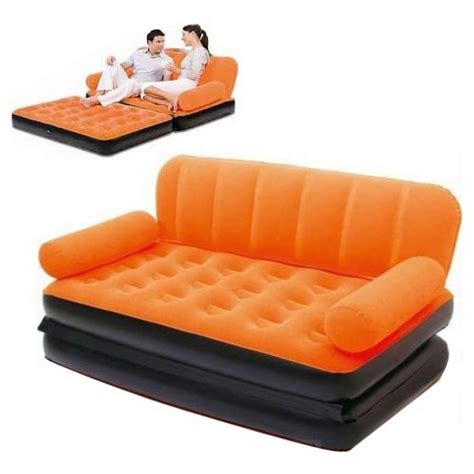 Coloring Lounge Air Sofa Bed 5 in 1 with Air Pump in