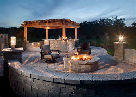 patio ideas with pit patio traditional with backyard