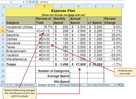 excel formula reference figure 3 the circular references command is