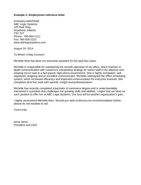 18 Recommendation Letter For Employees The Principled Society Reference Letter Template