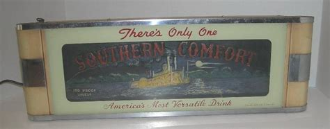 southern comfort classification southern comfort sign m168 for sale antiques com