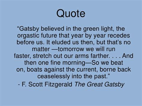 symbolism in the great gatsby quotes the great gatsby powerpoint