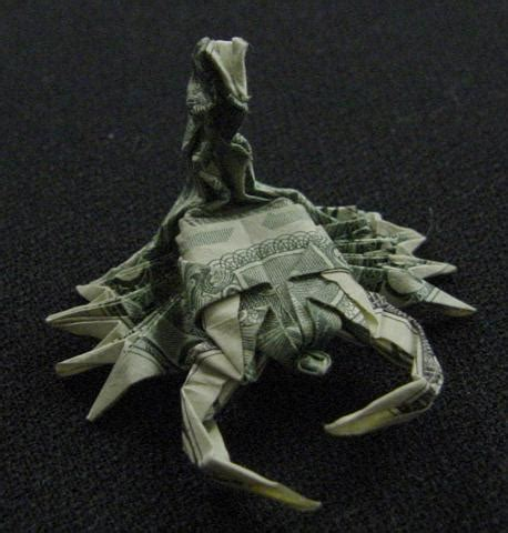 Dollar Origami Shark - one dollar scorpion by orudorumagi11 on deviantart
